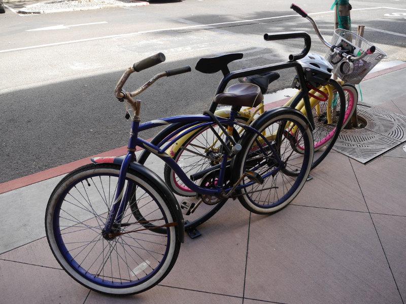 ハワイ 自転車