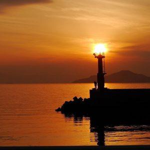 江田島の夕日